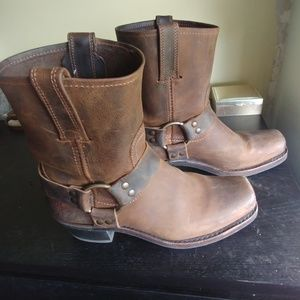 EUC Frye Harness 8 Boot Cowboy Made in USA